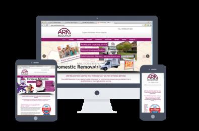 web design-Ark Relocation
