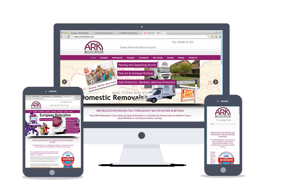 web design-Ark Relocation