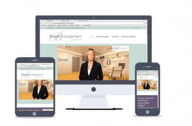 website design-breastlondon